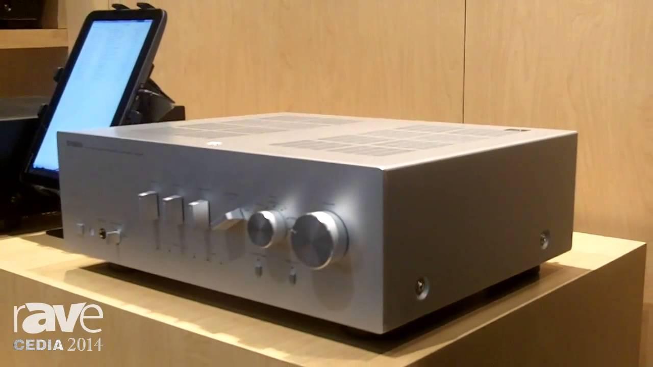 Cedia 2014 Yamaha Av Showcases Integrated Amplifier A S Series