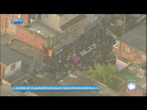 Balanço Geral mostra imagens de baile funk que invade a manhã em Paraisópolis SP