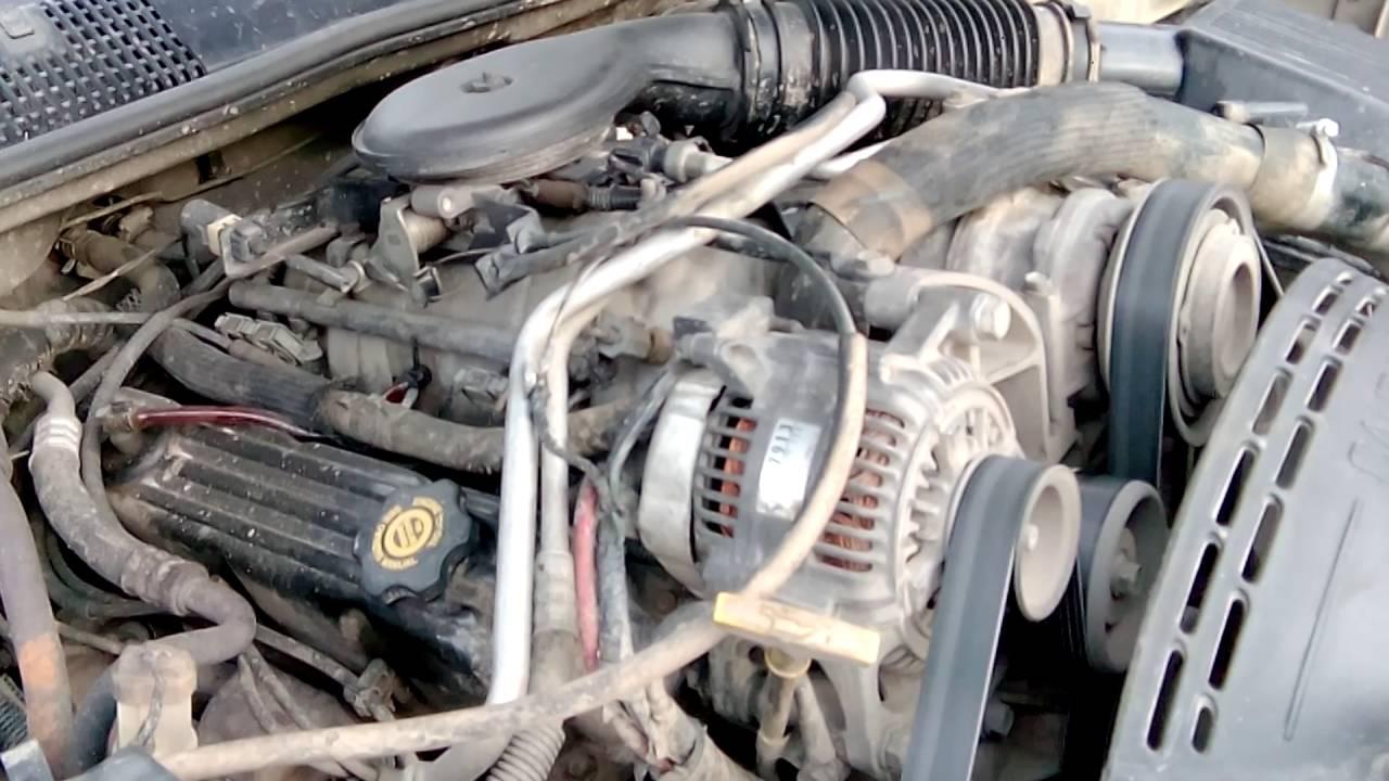 Jeep zj 5,2 V8 - YouTube