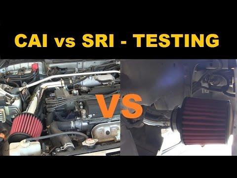 Cold Air Intake vs Short Ram - Testing Summary - Project Integra