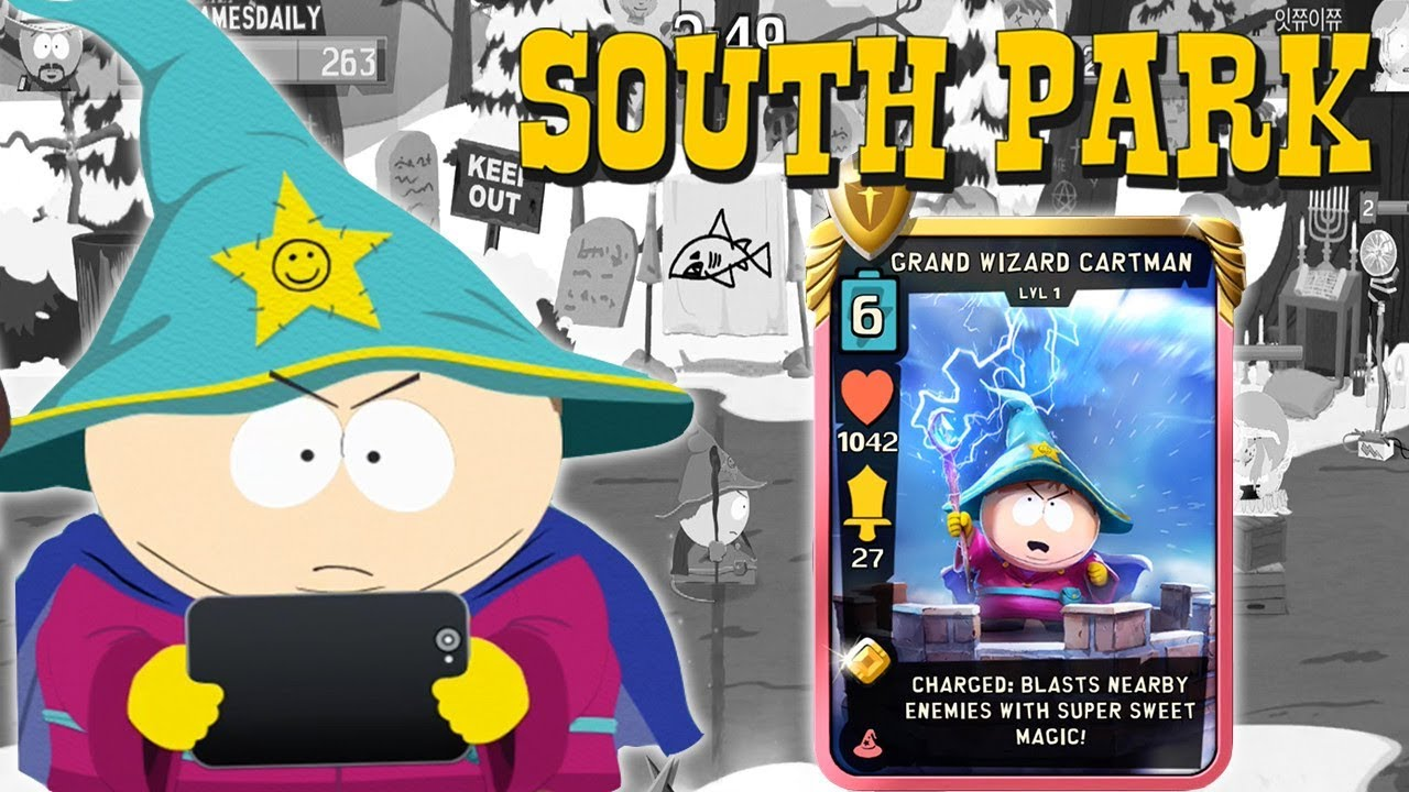 SOUTH PARK Phone Destroyer Gameplay Part 20 - Grand Wizard Cartman (iOS  Android)