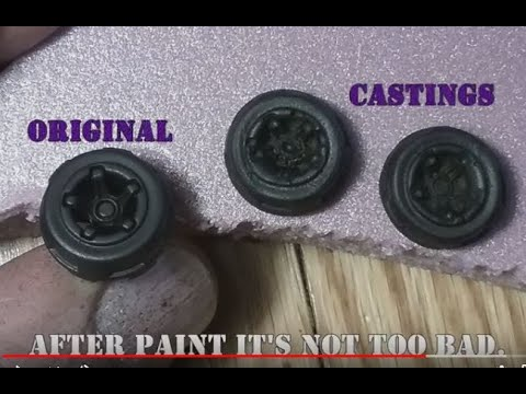 Casting parts for models & dioramas with clay & epoxy. Easy Nontoxic DIY