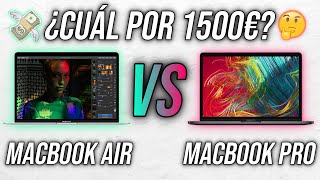 MacBook Pro 13' VS MacBook Air 13' | ¿Cuál elegir por 1500€?