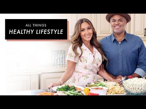 Adrienne \u0026 Israel Houghton's Healthy Lifestyle | All Things Adrienne