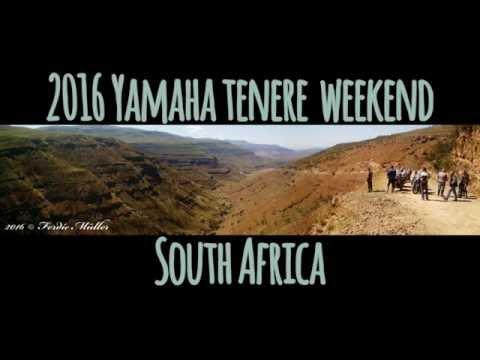 Yamaha Tenere weekend 2016 South Africa