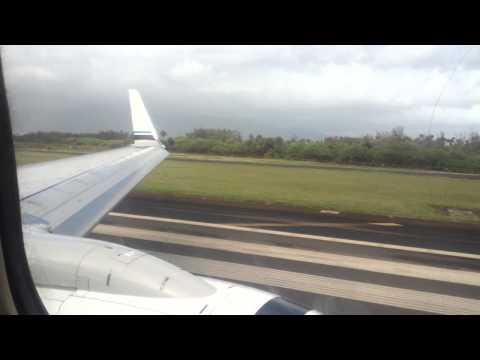 Alaska Airlines Boeing 737-800 ETOPS Landing in Kahului Maui