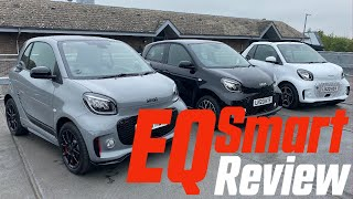 smart EQ fortwo and forfour Test Drive and Review
