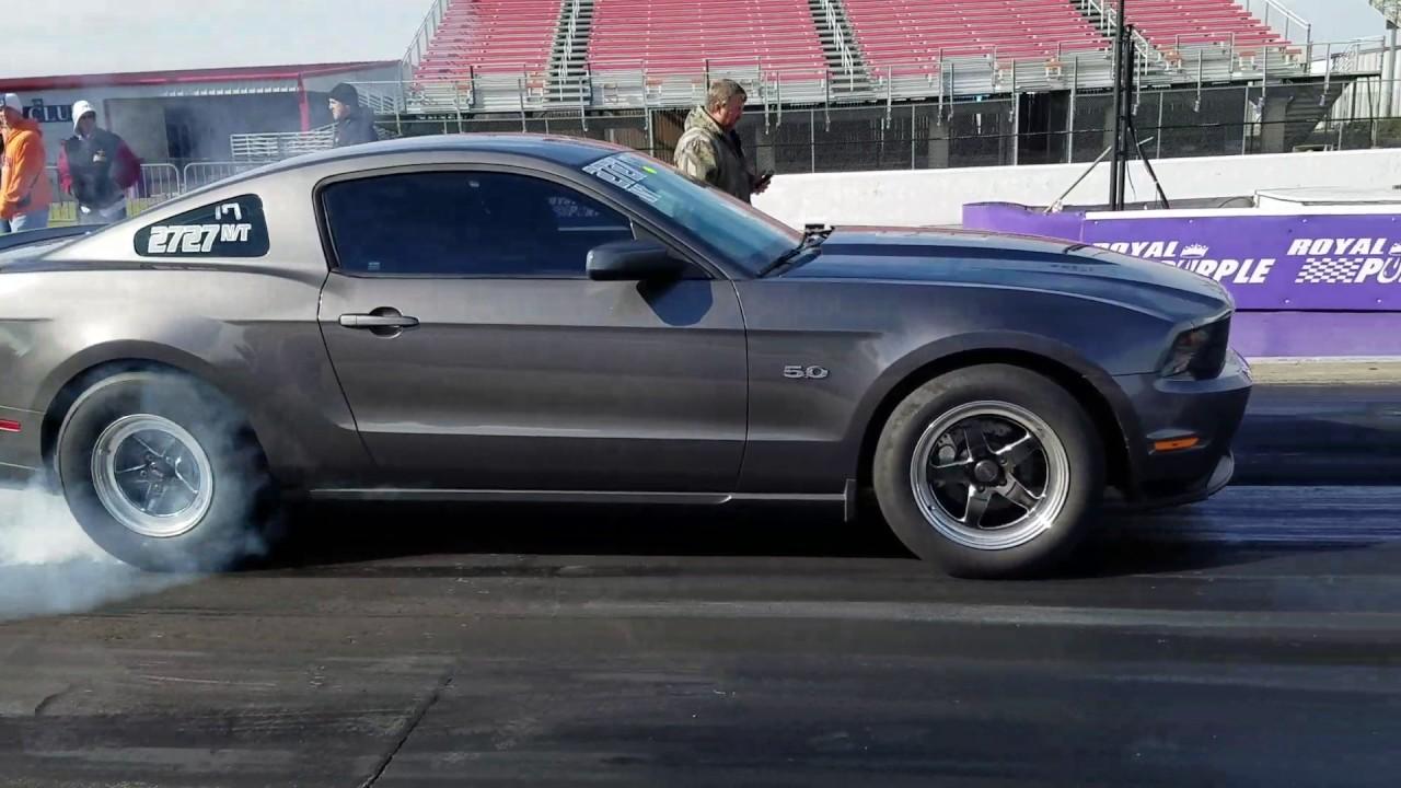 2012 Mustang GT Single 76mm turbo