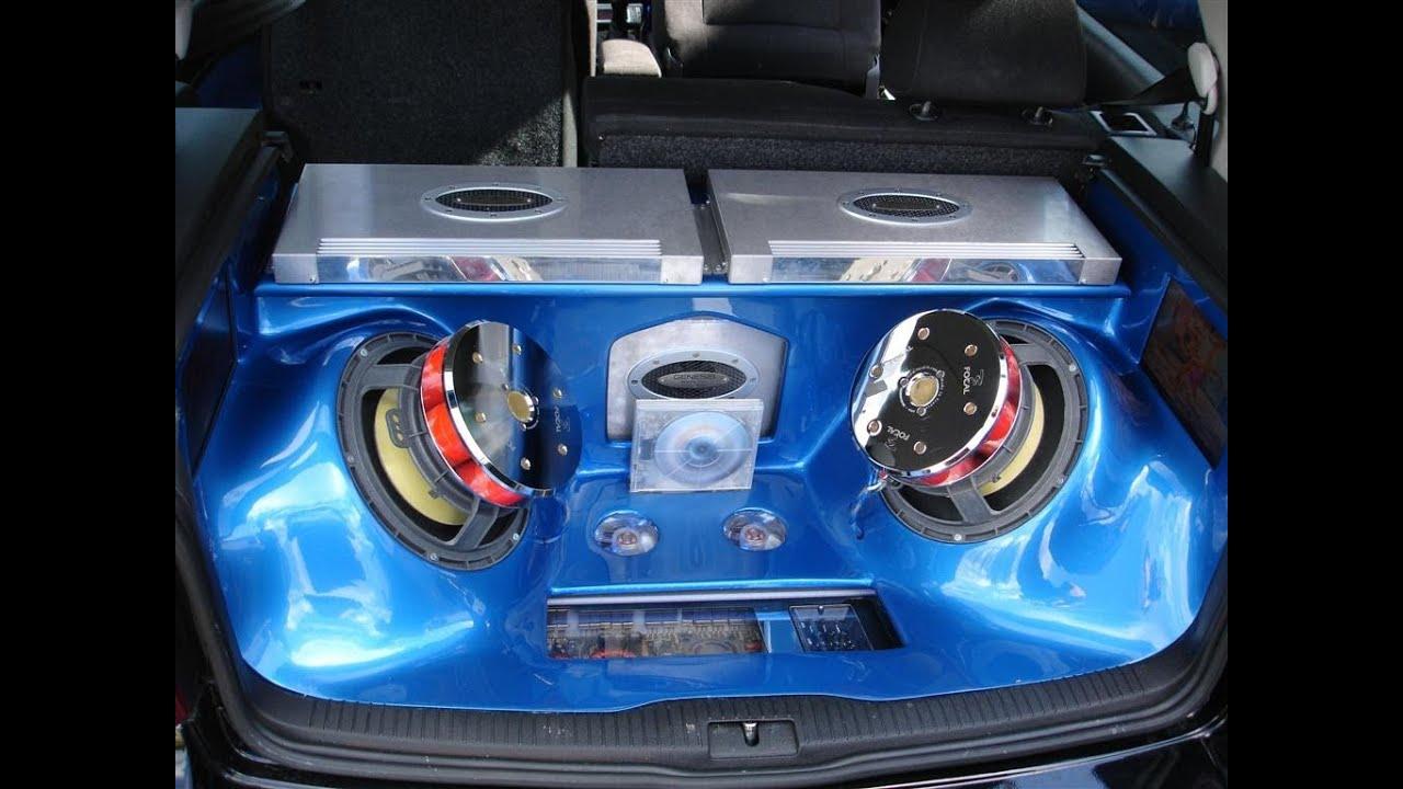 How To Custom Fibreglass Sound System For A Mk4 Golf Youtube