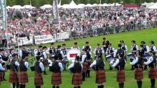 SFU Pipe Band Medley World Pipe Band Championships 2010 HD