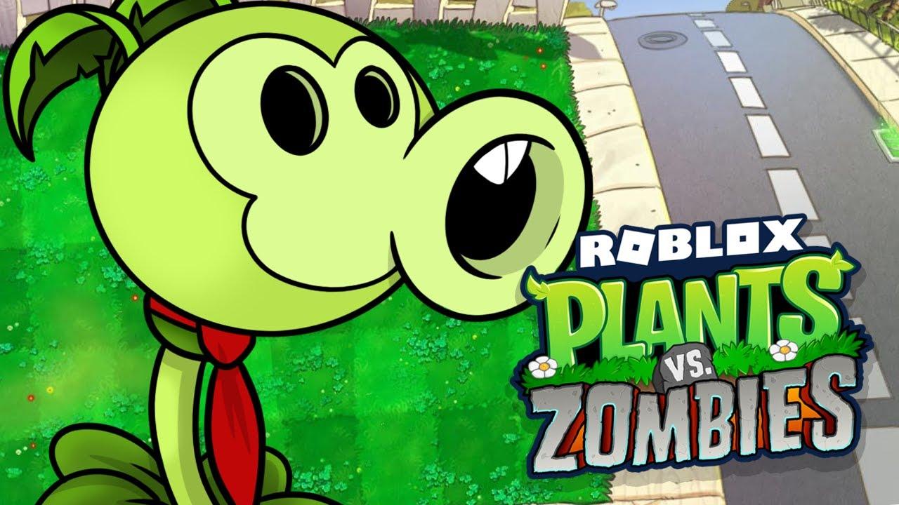 roblox plants vs zombies youtube