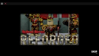 ROBLOX: Medieval Warfare Reforge - How to craft the Blue Dragon