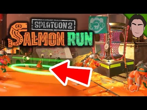 Splatoon 2 Salmon Run Trailer Analysis!