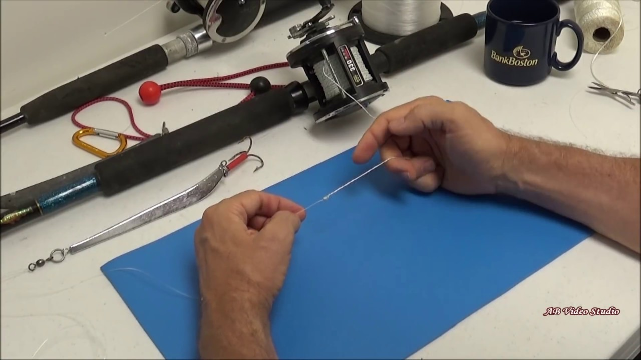 How To Tie Together Monofilament And Braided Fishing Lines Test Included Youtube