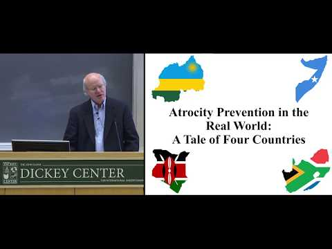Atrocity Prevention in the Real World: A Tale of Four Countries