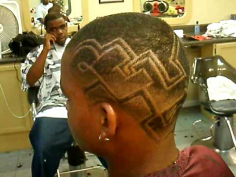haircut design graphic art
