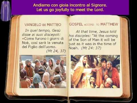 Anno liturgico A