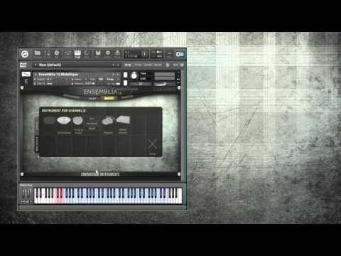 Ensemblia Metallique - Presenting most of the individual instruments