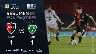 Copa De La Liga | Fecha 13 | resumen de Newell's - Sarmiento