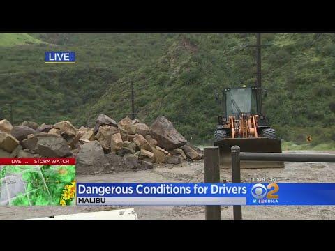 Rain Creates Dangerous Driving Conditions Throughout Los Angeles – Los Angeles Alerts