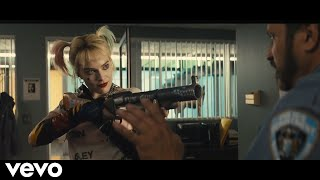 Tones and I - Dance Monkey // Birds of Prey - Harley Quinn Fight Video