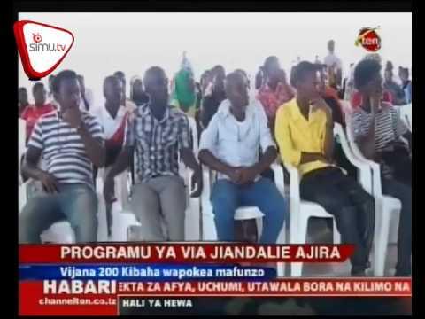 Programu Ya Via Jiandalie Ajira Yazinduliwa Kibaha
