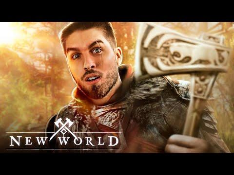 Download SPEEDRUN NO BETA FECHADO DE NEW WORLD!   RAKIN
