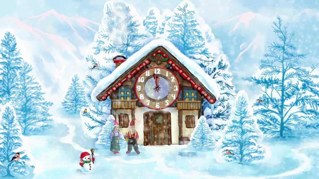 christmas house live wallpaper - youtube