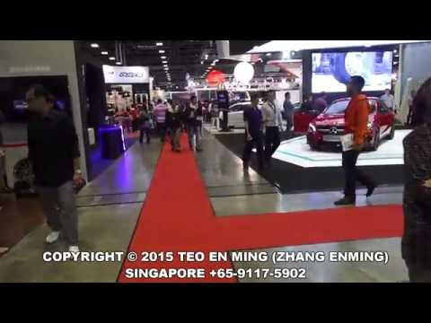 Singapore Motor Show 2015 Day 1 at Suntec City on 15 Jan 2015 (Race Queens Edition)