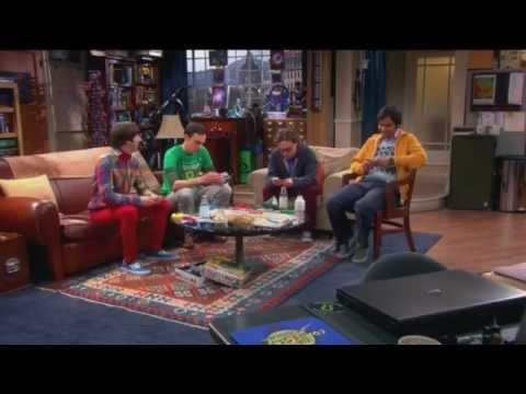 Sheldon sings TMNT