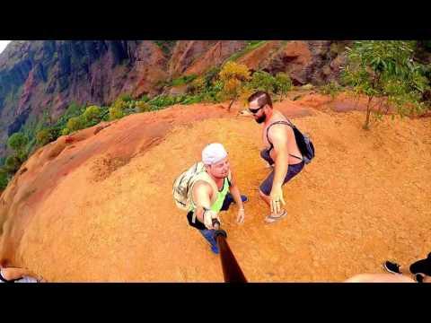GoPro Kauai Waimea Canyon Na Pali Coast Kalalau Trail