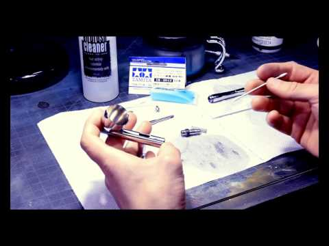 Airbrush Maintenance Tutorial With Byron