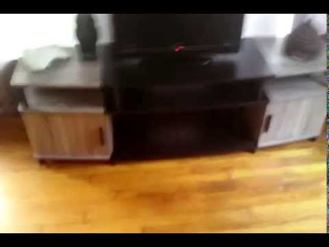 Carson Sonoma Oak Tv Stand Up To 70 Tv Youtube