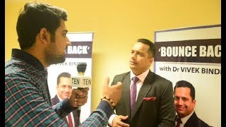 Dr. Vivek Bindra Exclusive Interview at Student Leadership Conclave | IMA Defamation | NMC Bill