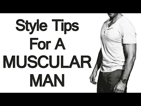 How to dress if you have a muscular build style tips for for Dress shirts for athletic guys