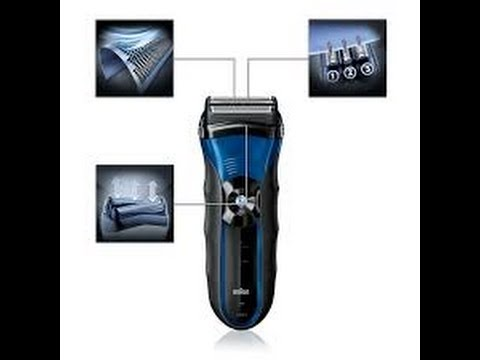 Braun Series 3-340s Wet Dry Electric Shaver Review