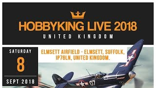 Hobbyking Live 2018 United Kingdom - Event Announcement
