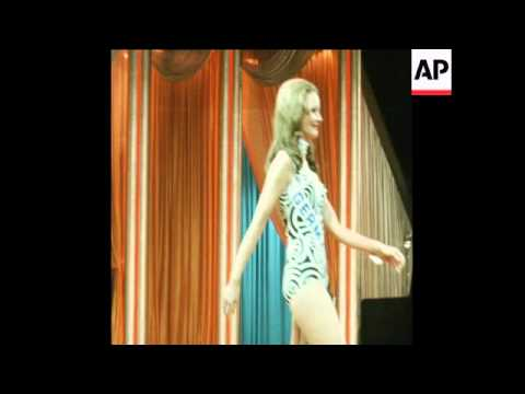 SYND 1-12-72 MISS AUSTRALIA WINS MISS WORLD 1972 COMPETITION IN LONDON