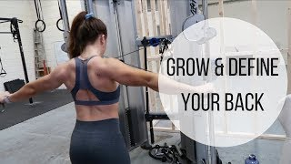 Grow And DEFINE Your Back | Complete Workout & Back Mobility Warm-up