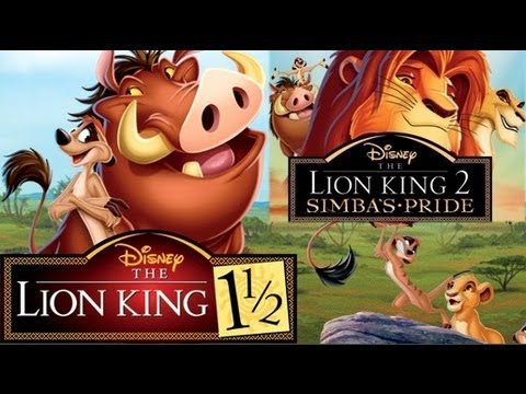 The Lion King 1 1 2 And 2 Simba S Pride Blu Ray Unboxing Review Dvd Youtube