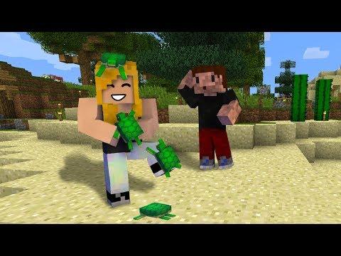 ŻÓŁWIA MAMA - Minecraft SURVI 1.13 | AGU i ZIO