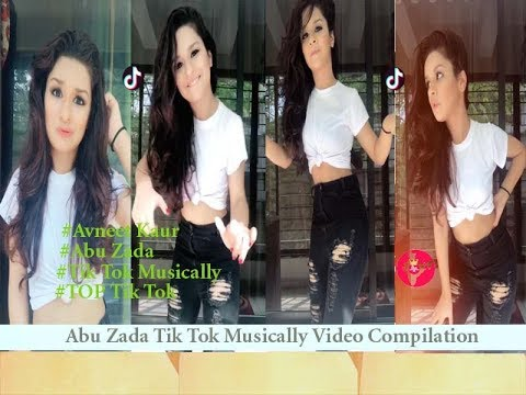 abu-zada-tik-tok-musically-video-compilation-|-avneet-kaur-new-video-2018
