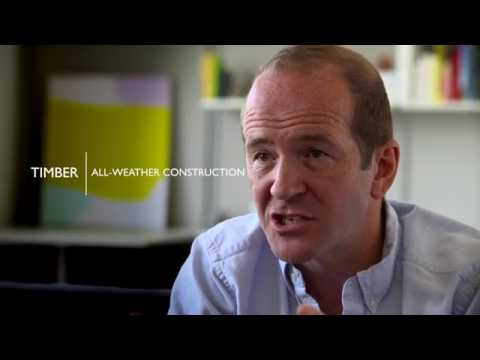 Architect Andrew Waugh on CLT (Timber | The Building Material of the Future)
