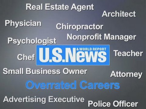 The Most Overrated Careers