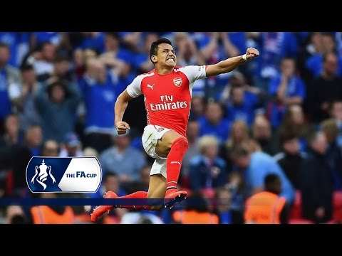 Reading 1-2 Arsenal (2015 FA Cup Semi-Final) | Goals & Highlights