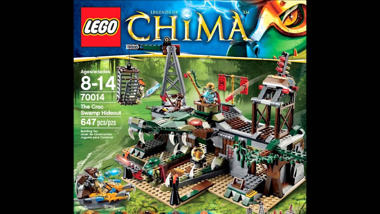 The 2013 New Legends Croc Hideout Summer Swamp Pictures Of Chima Lego 70014 rdoWexCB