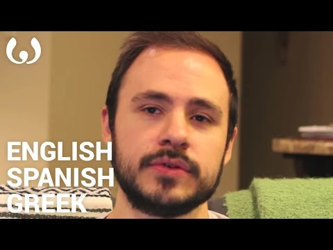 WIKITONGUES: John speaking English, Spanish, and Greek