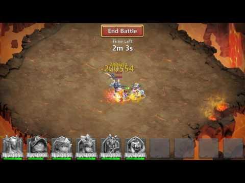 Castle Clash - Archdemon - Stuns Targets / Huge Damage - 919 Million (Atlanticore)!