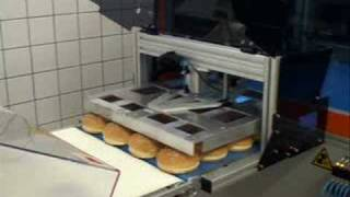 INNOMINATUS portal-robot (for BURGER KING) by LOGTRON Intralogistics GmbH