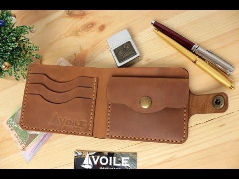 Кошелек-чехол для телефона из кожи ручной работы VOILE vl-lw3-kgin .